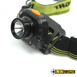 Ledcore 3W Headlight with motion sensor