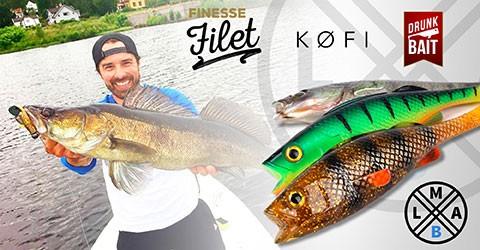 Monipuolisesta LMAB valikoimasta jigit joka lähtöön. Aitoa kalaa jäljittelevät kalajigit, sekä erikosemmat shadit ja jigit räikeillä väreillä.