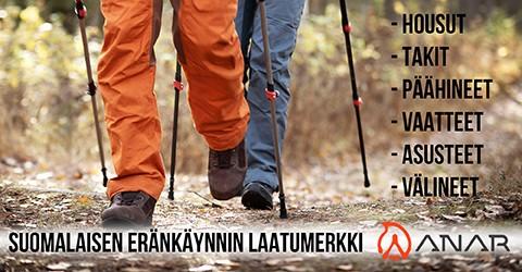Anar on suomalaisen eränkäynnin edelläkävijä.