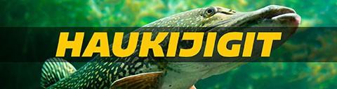 Hauenkalastus on suosittu kalastusmuoto. Siihen välineet meiltä. Haukijigit, rigit, shadit ja paljon muuta. Nappaa suurhauet jo tänään!